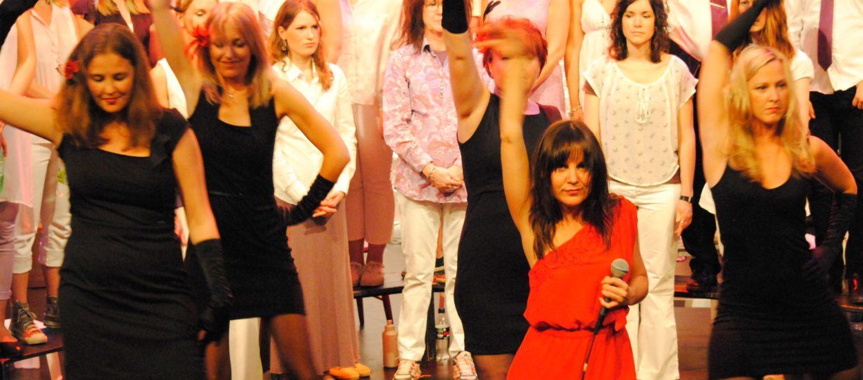 Artisten och sångpedagogen Cecilia Nedgård samt pop- och rockkören Unisoul Vocal Choir