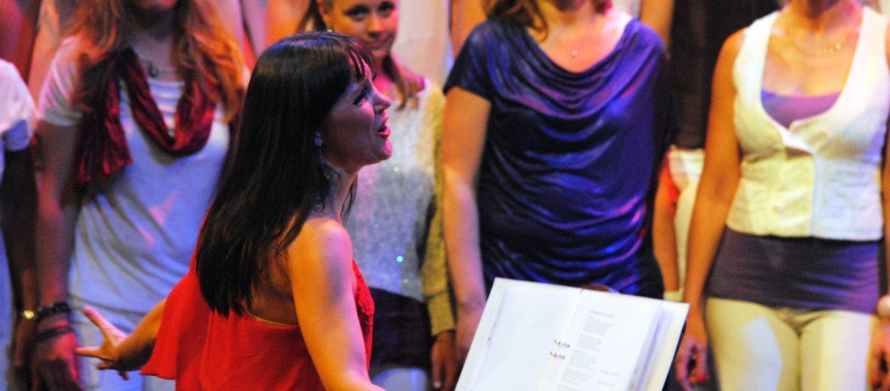 Sångpedagogen och körledaren Cecilia Nedgård samt pop- och rockkören Unisoul Vocal Choir